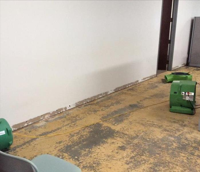 Commercial Building Suffers a Water Loss After