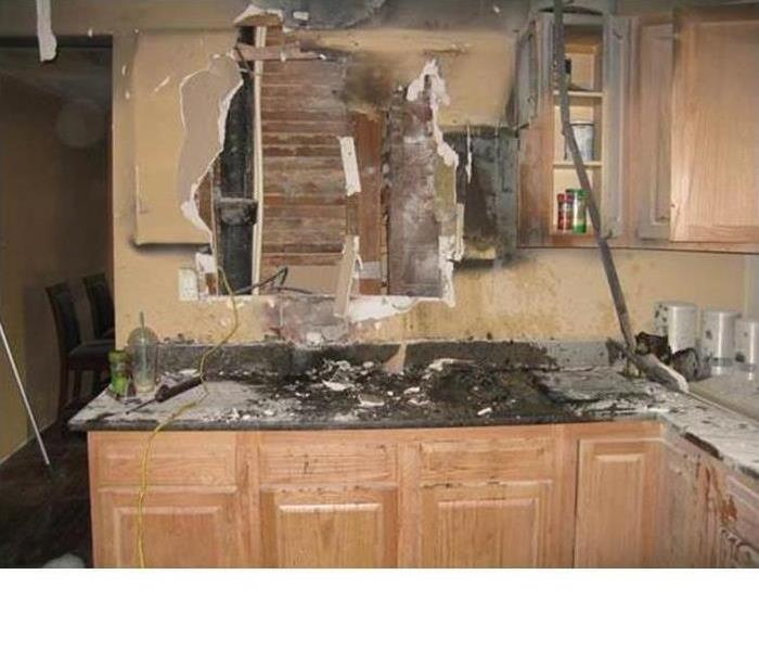 Evans Kitchen Fire